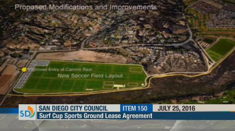 Polo Fields at San Diego City Council