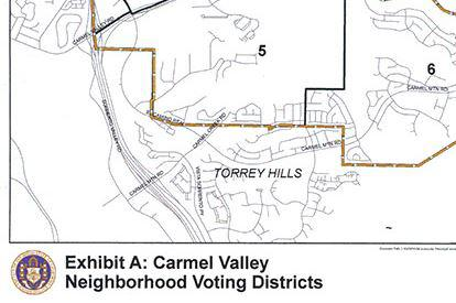 CVCPB Voting Districts