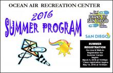 Ocean Air Park Summer Program 2016